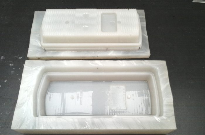 Rear light mold
