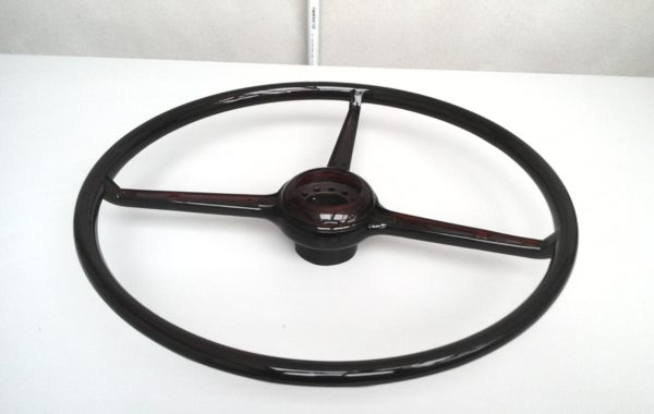 Steering wheel after reproduction